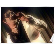 Canberra Elvis - White Suit - mcu - Singing  Poster