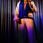 Canberra Elvis - White Suit - Down - LS - Singing  by tmac