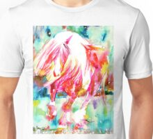 RED HORSE RUNNING Unisex T-Shirt