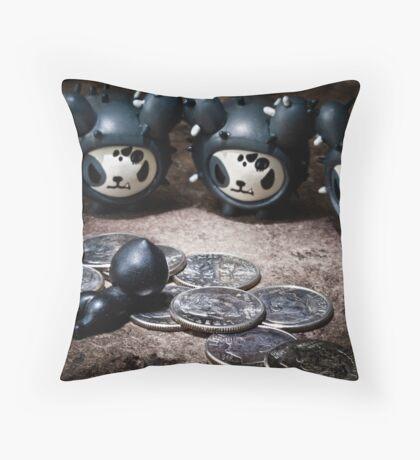 Judas' Remorse Throw Pillow