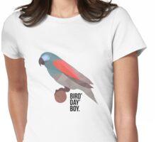 Bird' Day' Boy Womens Fitted T-Shirt