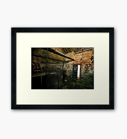 The Gimps Room Framed Print