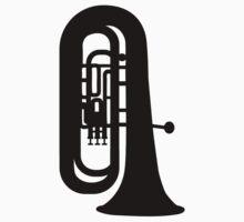Black Tuba by Designzz