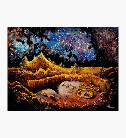 Another Lunar Scape Photographic Print