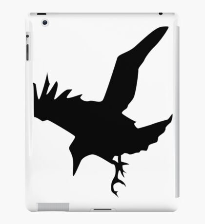 Raven A Halloween Bird Of Prey iPad Case/Skin