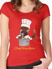Chef Harden Women's Fitted Scoop T-Shirt