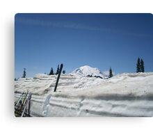 Ski Rainier Canvas Print