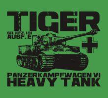 Tiger I One Piece - Short Sleeve