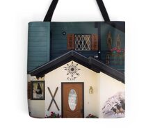 Behold this chalet ! Tote Bag
