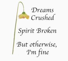 But otherwise I'm fine by Darren Stein
