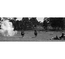 bombs go off on way home Photographic Print
