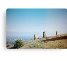 Standing Stones over looking Dublin Canvas Print