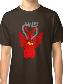 Welsh Dragon with daffodils Classic T-Shirt