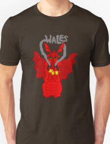 Welsh Dragon with daffodils T-Shirt