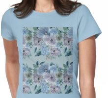 Mountain Flowers 4 Womens Fitted T-Shirt