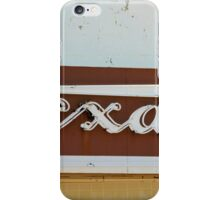 Texan Movie Theater Sign iPhone Case/Skin