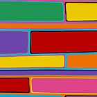 Retro Art - Vivid Colour #21 by sekodesigns