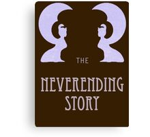 The Neverending Story - Movie and Book  Canvas Print