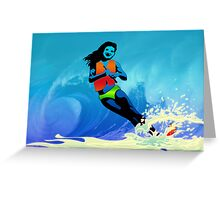 Surf Greeting Card
