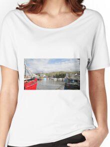 Girvan Harbour 02 Women's Relaxed Fit T-Shirt