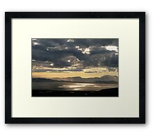 Lightshow Framed Print