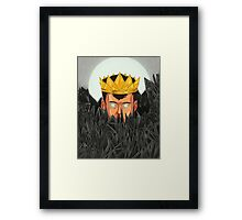 The King is Under Control  Framed Print