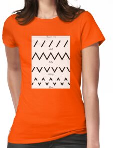 scratch Dj - lesson one  Womens Fitted T-Shirt