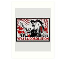 Borderland - Clap Trap Viva la Robolution Art Print