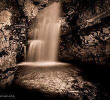 Smoo Cave Water Fall  by kingssummers