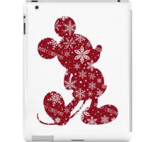 Christmas Mickey iPad Case/Skin