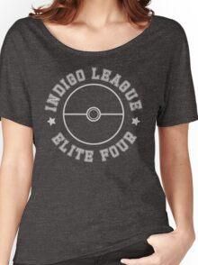 Pokemon - Indigo League Elite Four Women's Relaxed Fit T-Shirt