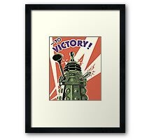Doctor Who - Daleks to Victory Framed Print