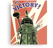Doctor Who - Daleks to Victory Metal Print