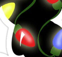 Christmas Lights Mickey Sticker