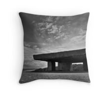 Point Lonsdale Bunker Throw Pillow