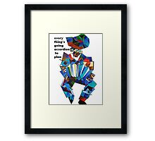Everything's Going Accordion To Plan Framed Print