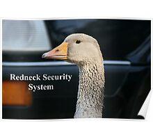 Redneck Security System Poster