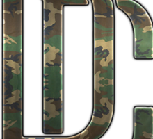Dream Chasers CAMO Sticker