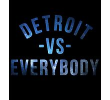 Detroit VS Everybody Nebula Photographic Print
