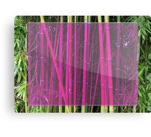 Bambou Canvas Print