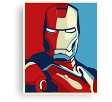 The Avengers - Vote for Iron Man (2) Canvas Print