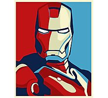The Avengers - Vote for Iron Man (2) Photographic Print