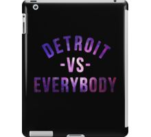 Detroit VS Everybody GALAXY iPad Case/Skin