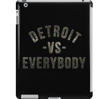 Detroit VS Everybody Camo iPad Case/Skin