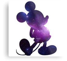 Galaxy Mickey Metal Print