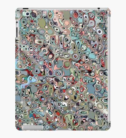Abstract Digital Doodle iPad Case/Skin