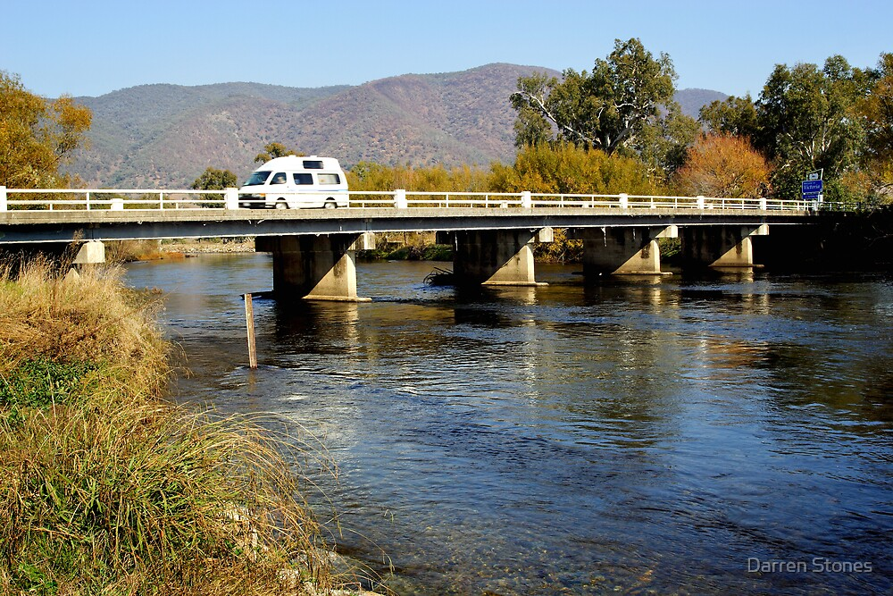 Murray River - Khancoban by Darren Stones