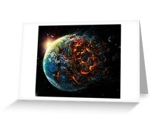 Chaos World Greeting Card