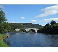 River Tay at Dunkeld Photographic Print