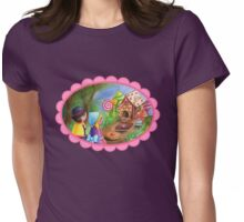Kokeshis Hansel and Gretel Womens Fitted T-Shirt